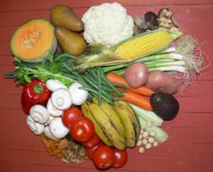 more fruit and vegies in your diet